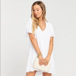 Show Me Your Mumu | Disick Dress White Tunic